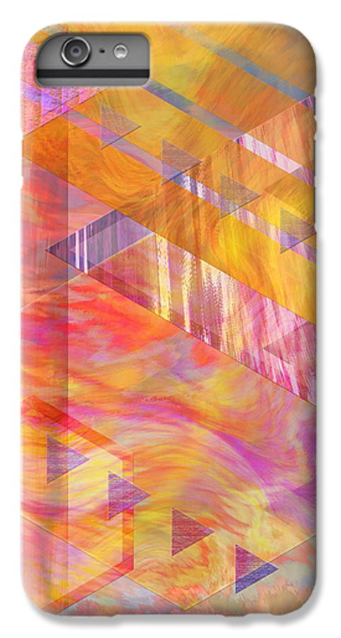 Affordable Art IPhone 6s Plus Case featuring the digital art Bright Dawn by John Beck