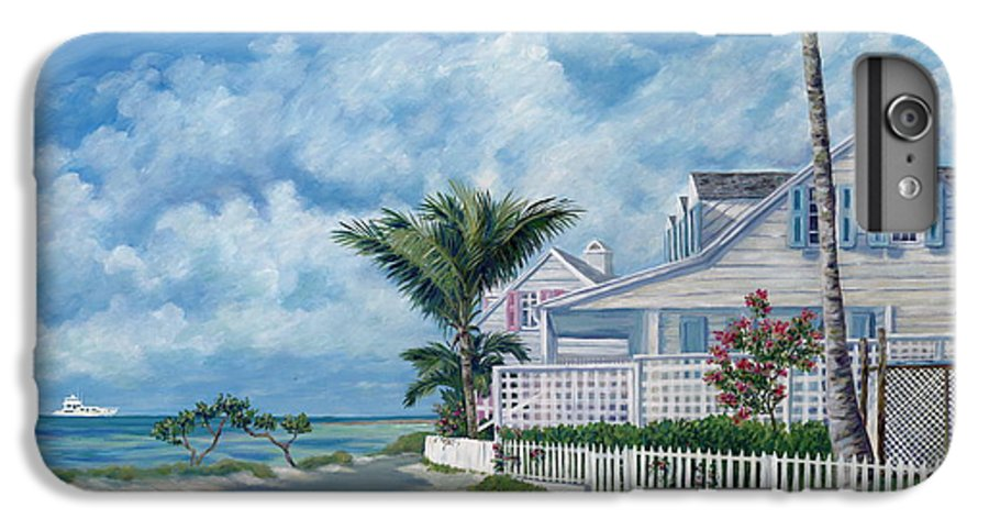 Harbor Island IPhone 6s Plus Case featuring the painting Briland Breeze by Danielle Perry