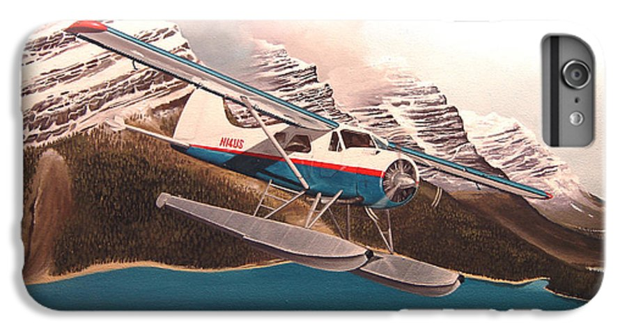 Aviation IPhone 6s Plus Case featuring the painting Bringing Home The Groceries by Marc Stewart
