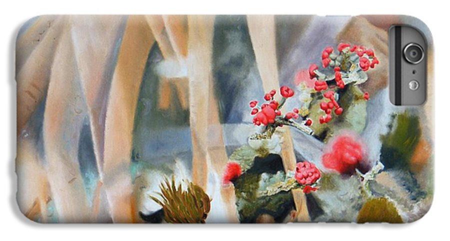 Nature IPhone 6s Plus Case featuring the painting British Soldiers by Dave Martsolf