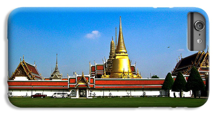 Buddha IPhone 6s Plus Case featuring the photograph Buddhaist Temple by Douglas Barnett