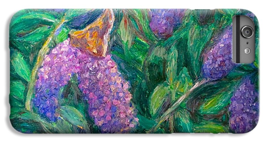 Butterfly IPhone 6s Plus Case featuring the painting Butterfly View by Kendall Kessler