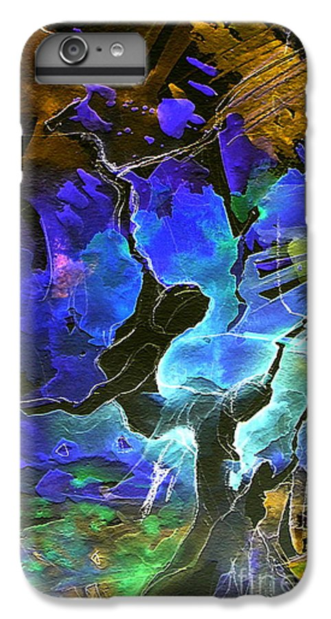 Miki IPhone 6s Plus Case featuring the painting Bye by Miki De Goodaboom