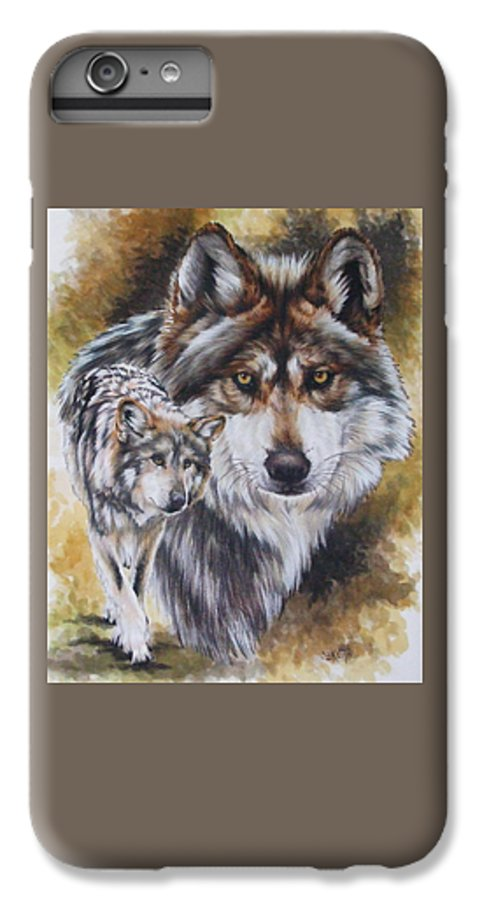 Wildlife IPhone 6s Plus Case featuring the mixed media Callidity by Barbara Keith