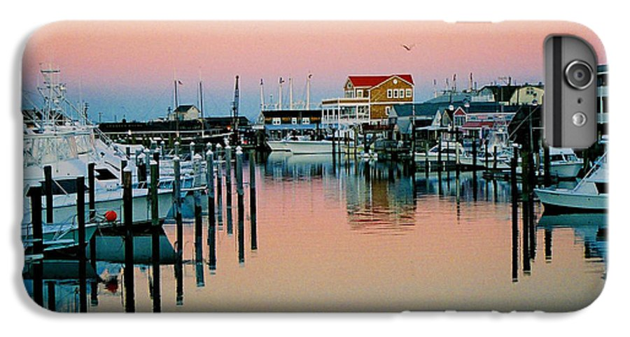 Cape May IPhone 6s Plus Case featuring the photograph Cape May After Glow by Steve Karol
