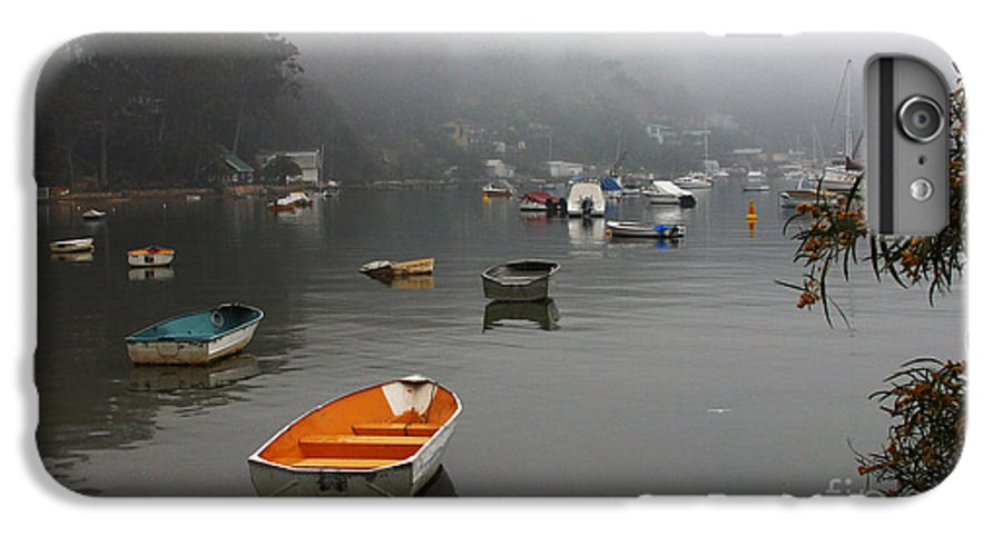 Mist IPhone 6s Plus Case featuring the photograph Careel Bay Mist by Avalon Fine Art Photography