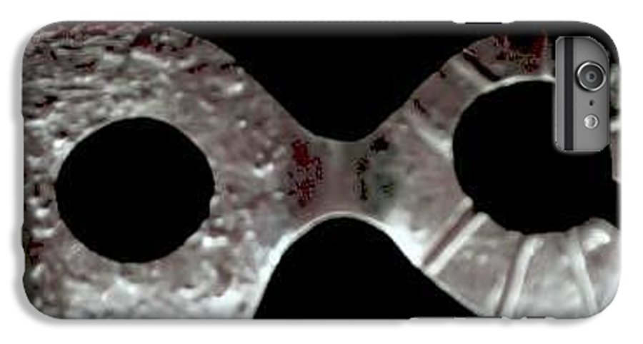 Carnival Type Face Mask For Wearing In .999 Fine Silver IPhone 6s Plus Case featuring the photograph Carnival 002 by Robert aka Bobby Ray Howle