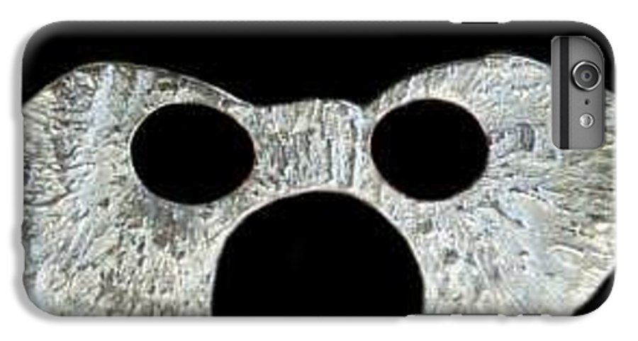 A Wearable Mardi Gras Carnival Or Costume Mask With A Leather Covered Holding Stick IPhone 6s Plus Case featuring the photograph Carnival Series by Robert aka Bobby Ray Howle