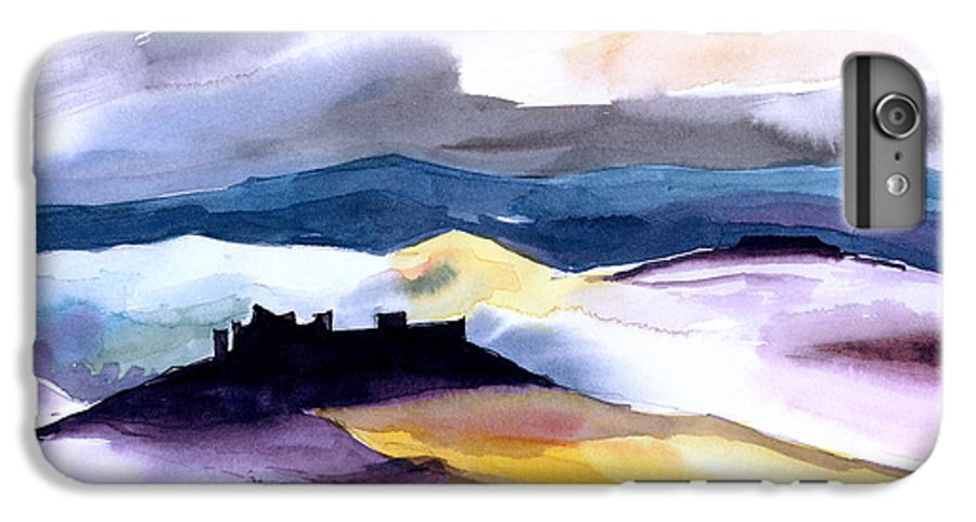 Water IPhone 6s Plus Case featuring the painting Castle by Anil Nene