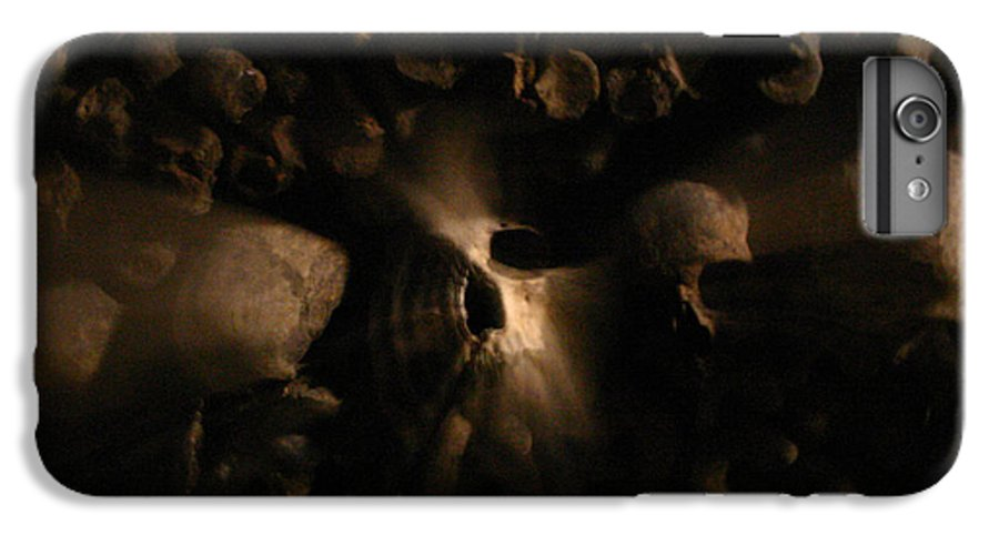 IPhone 6s Plus Case featuring the photograph Catacombs - Paria France 3 by Jennifer McDuffie
