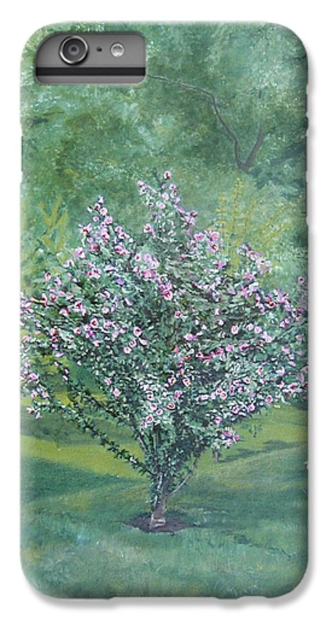 Blooming IPhone 6s Plus Case featuring the painting Charles Street by Leah Tomaino