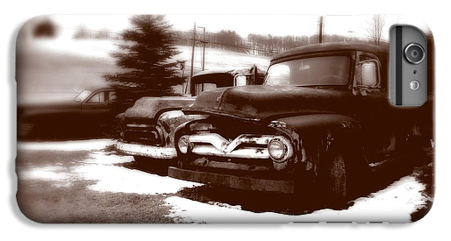 Old Cars IPhone 6s Plus Case featuring the photograph Chocolate Ghosts by Jean Macaluso