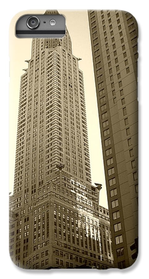 New York IPhone 6s Plus Case featuring the photograph Chrysler Building by Debbi Granruth