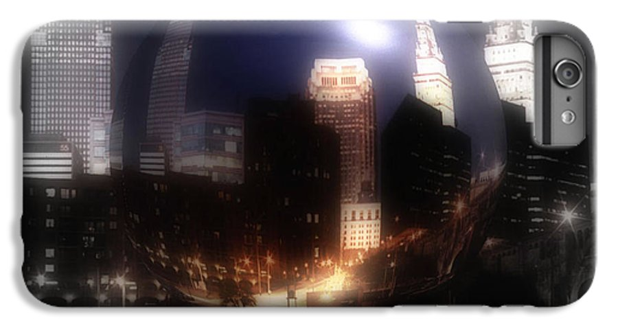 Cleveland IPhone 6s Plus Case featuring the photograph City On The North Coast by Kenneth Krolikowski