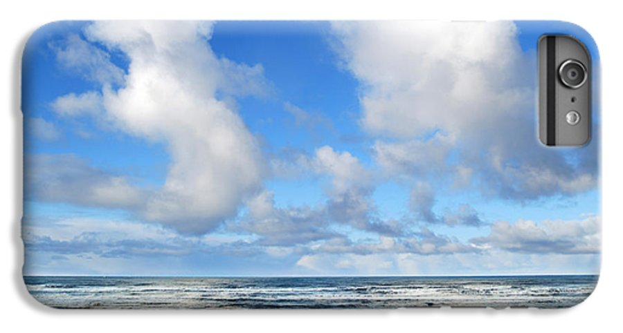 Ocean IPhone 6s Plus Case featuring the photograph Clouds At Play by Larry Keahey