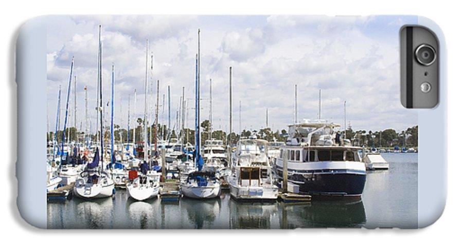 Coronado IPhone 6s Plus Case featuring the photograph Coronado Boats II by Margie Wildblood