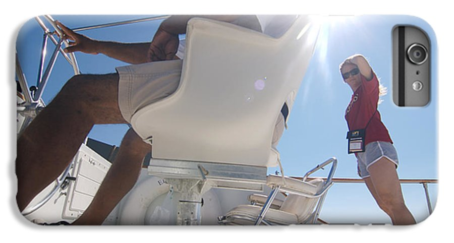 Sun IPhone 6s Plus Case featuring the photograph Cruising The Sea Of Cortez by Carl Purcell