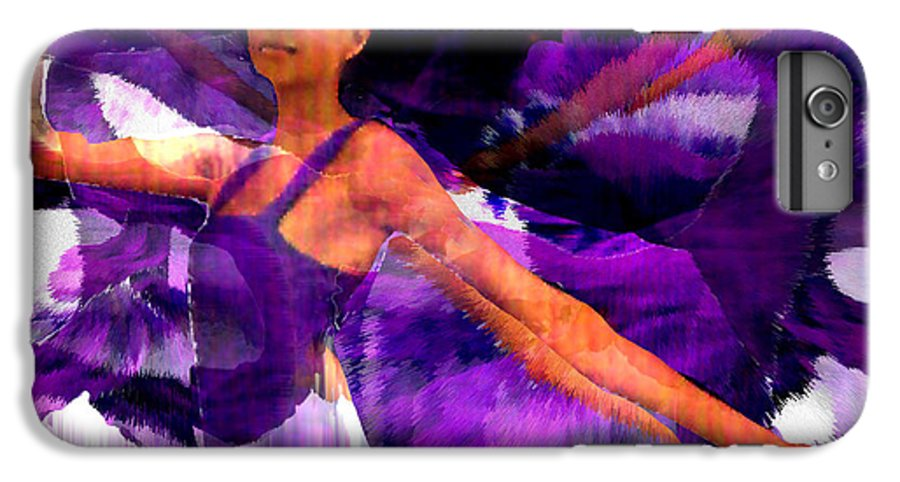 Mystical IPhone 6s Plus Case featuring the digital art Dance Of The Purple Veil by Seth Weaver