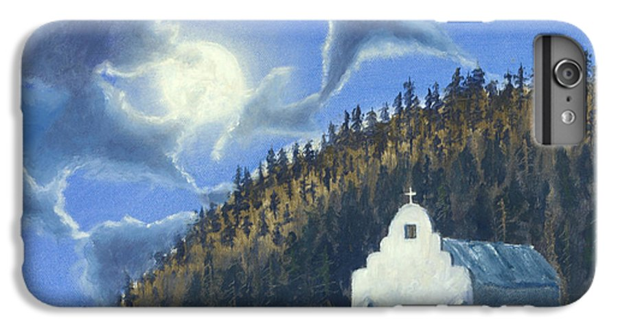 Landscape IPhone 6s Plus Case featuring the painting Dancing In The Moonlight by Jerry McElroy