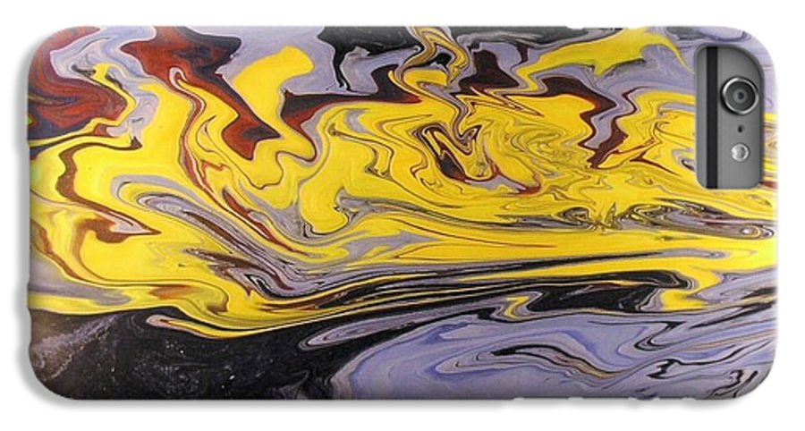 Acrylic IPhone 6s Plus Case featuring the painting Dawn Light by Patrick Mock