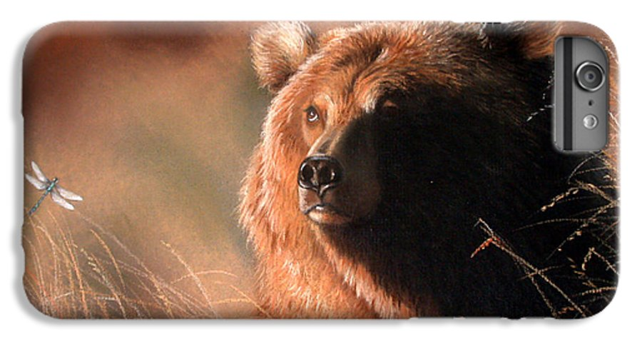 Wildlife IPhone 6s Plus Case featuring the painting Day Dream by Deb Owens-Lowe