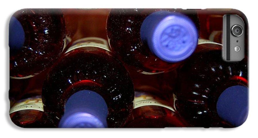 Wine IPhone 6s Plus Case featuring the photograph De-vine Wine by Debbi Granruth