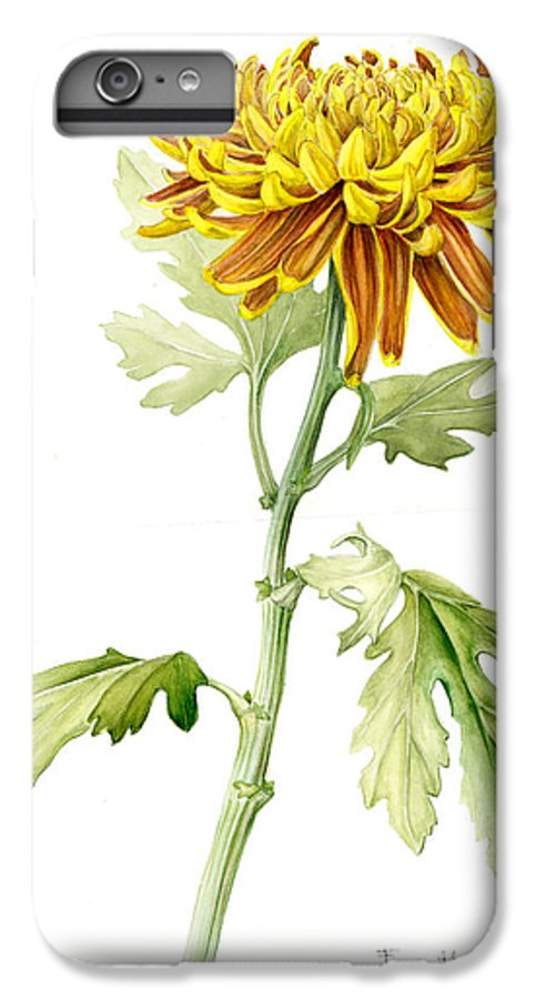 Deco Mum IPhone 6s Plus Case featuring the painting Deco Mum by Fran Henig