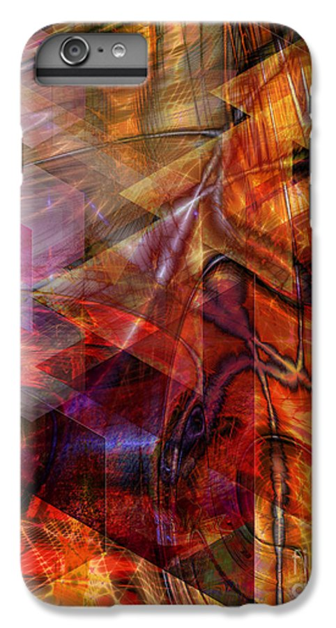 Deguello Sunrise IPhone 6s Plus Case featuring the digital art Deguello Sunrise by John Beck