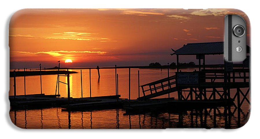 Dock IPhone 6s Plus Case featuring the photograph Dock Of The Bay by Debbie May