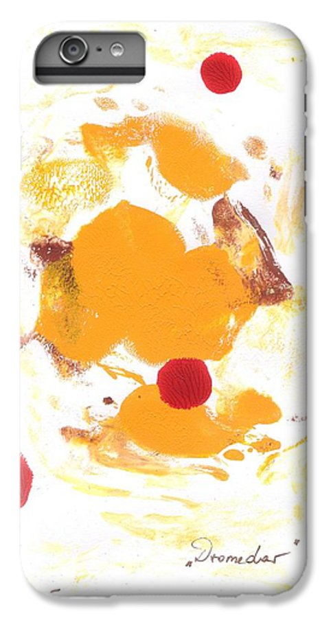 Decalcomanie IPhone 6s Plus Case featuring the painting Dromedar by Michael Puya