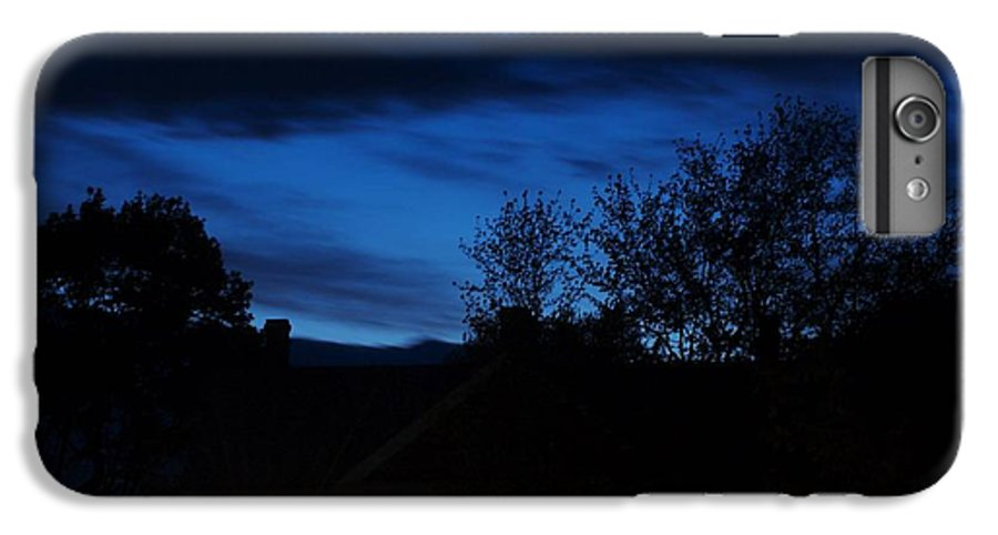 Silhouette IPhone 6s Plus Case featuring the photograph Dusk by Faith Harron Boudreau