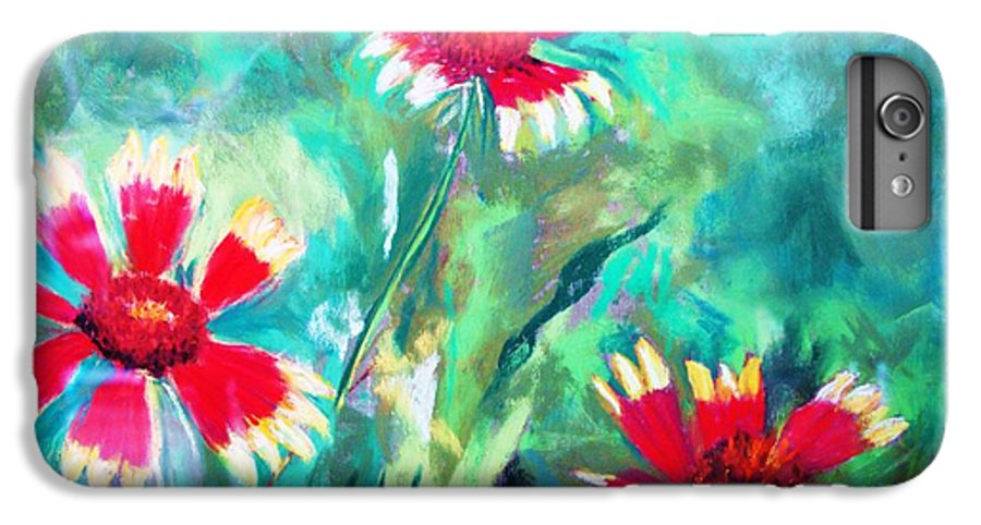 Flowers IPhone 6s Plus Case featuring the painting East Texas Wild Flowers by Melinda Etzold