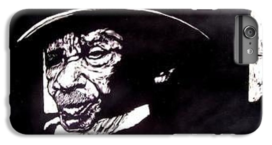 IPhone 6s Plus Case featuring the mixed media Ebenezer by Chester Elmore