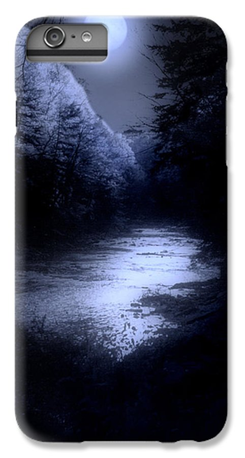 Moon IPhone 6s Plus Case featuring the photograph Eerie Tranquility by Kenneth Krolikowski