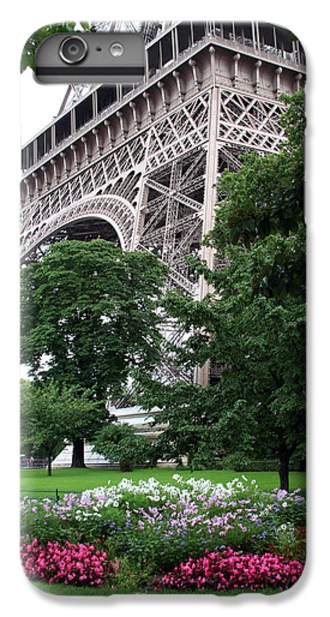 Eiffel IPhone 6s Plus Case featuring the photograph Eiffel Tower Garden by Margie Wildblood