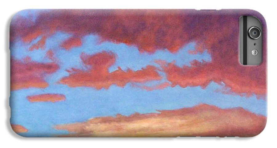 Sunset IPhone 6s Plus Case featuring the painting El Dorado Sunset by Brian Commerford