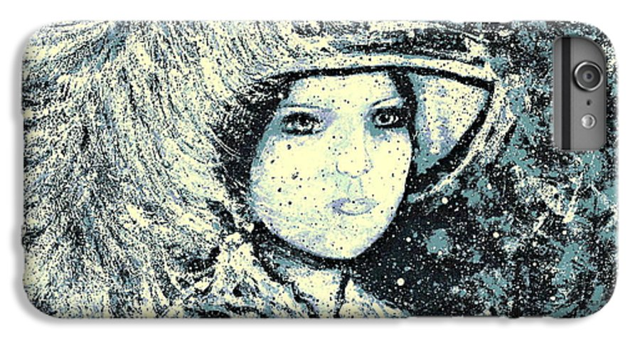 Woman IPhone 6s Plus Case featuring the painting Evalina by Natalie Holland