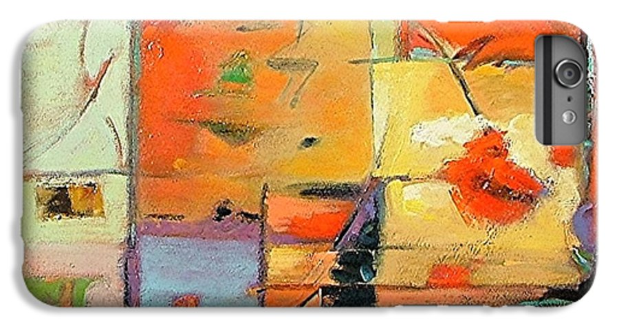 Abstract Painting IPhone 6s Plus Case featuring the painting Evening Light by Gary Coleman