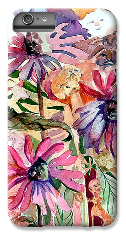 Daisy IPhone 6s Plus Case featuring the painting Fairy Land by Mindy Newman