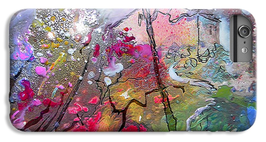 Miki IPhone 6s Plus Case featuring the painting Fantaspray 19 1 by Miki De Goodaboom
