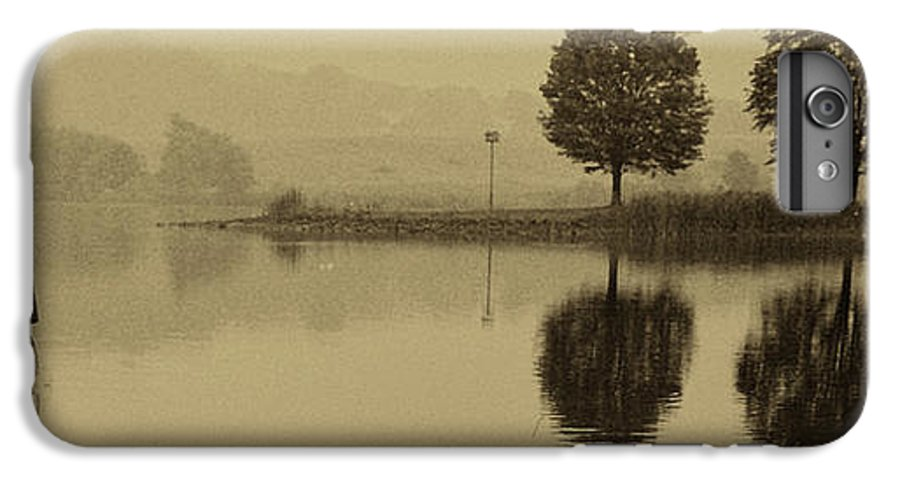 Fishing IPhone 6s Plus Case featuring the photograph Fishing At Marsh Creek State Park Pa. by Jack Paolini