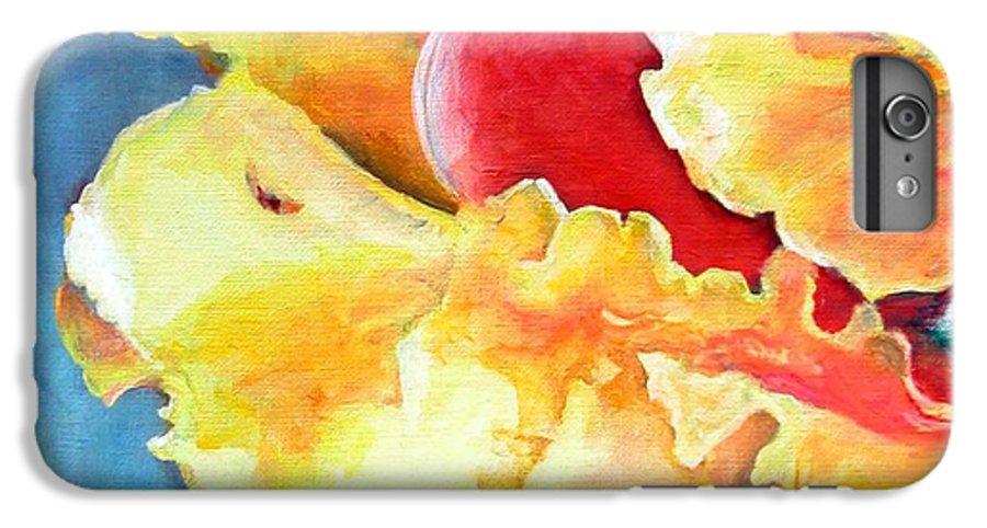 Floral Painting IPhone 6s Plus Case featuring the painting Floraison by Muriel Dolemieux