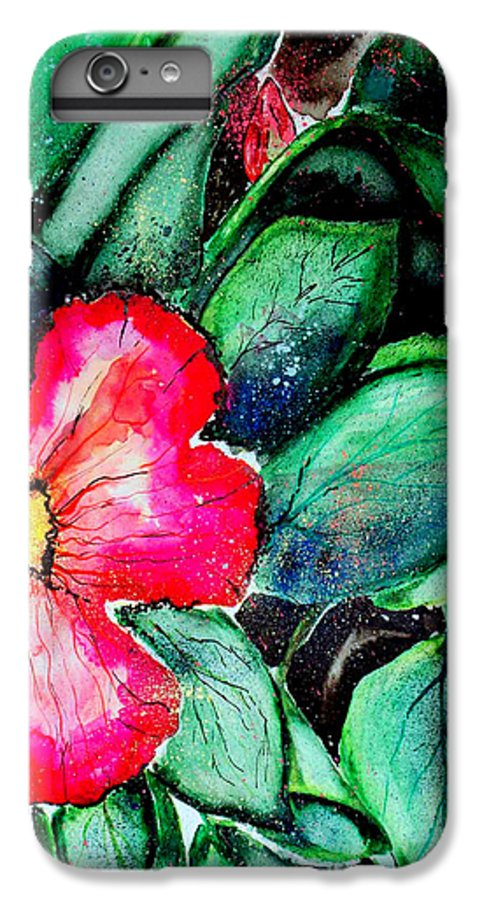 Exotic IPhone 6s Plus Case featuring the photograph Florida Flower by Margaret Fortunato