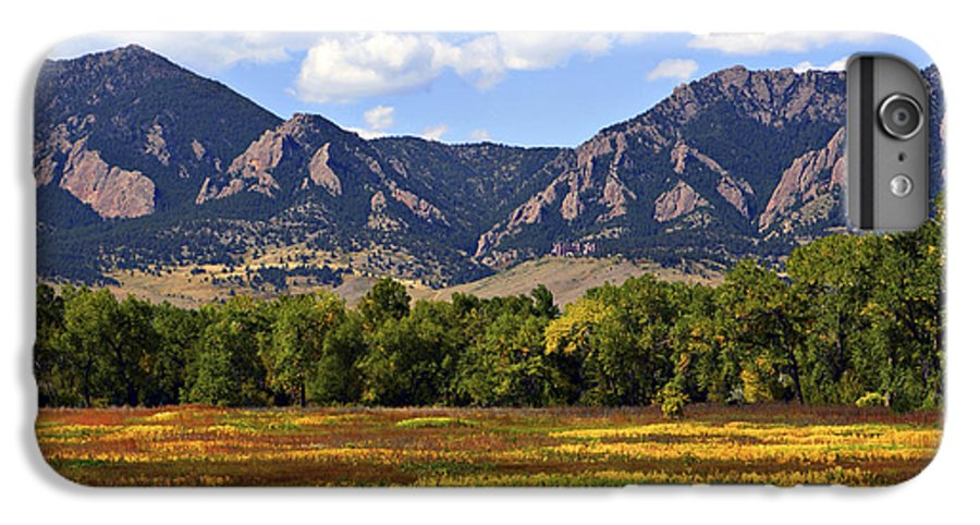 Fall IPhone 6s Plus Case featuring the photograph Foothills Of Colorado by Marilyn Hunt