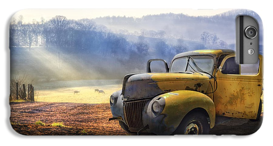 Appalachia IPhone 6s Plus Case featuring the photograph Ford In The Fog by Debra and Dave Vanderlaan