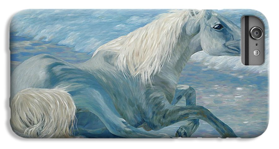 Seascape IPhone 6s Plus Case featuring the painting Free Spirit by Danielle Perry