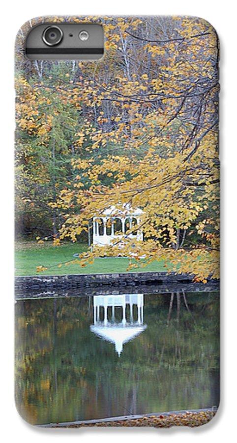 Gazebo IPhone 6s Plus Case featuring the photograph Gazebo Reflection by Faith Harron Boudreau