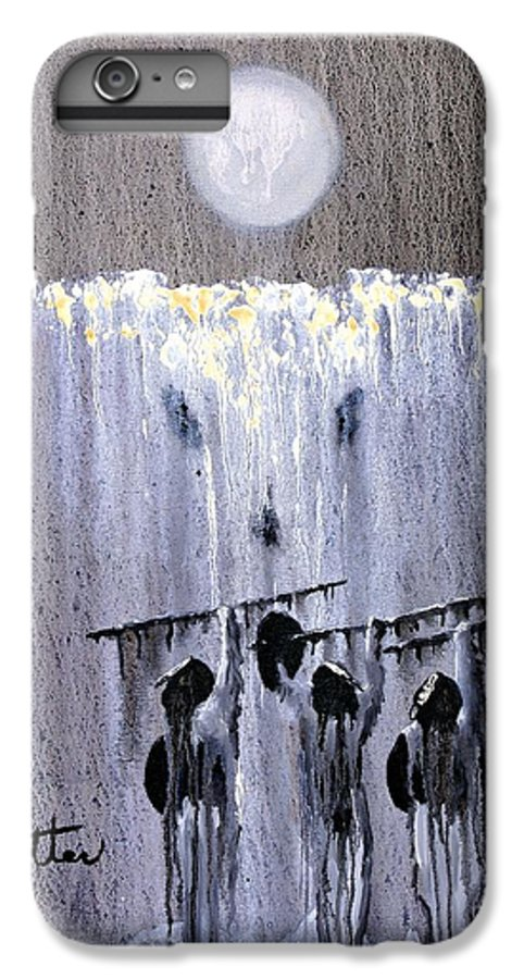 American Indian IPhone 6s Plus Case featuring the painting Ghost Dance by Patrick Trotter