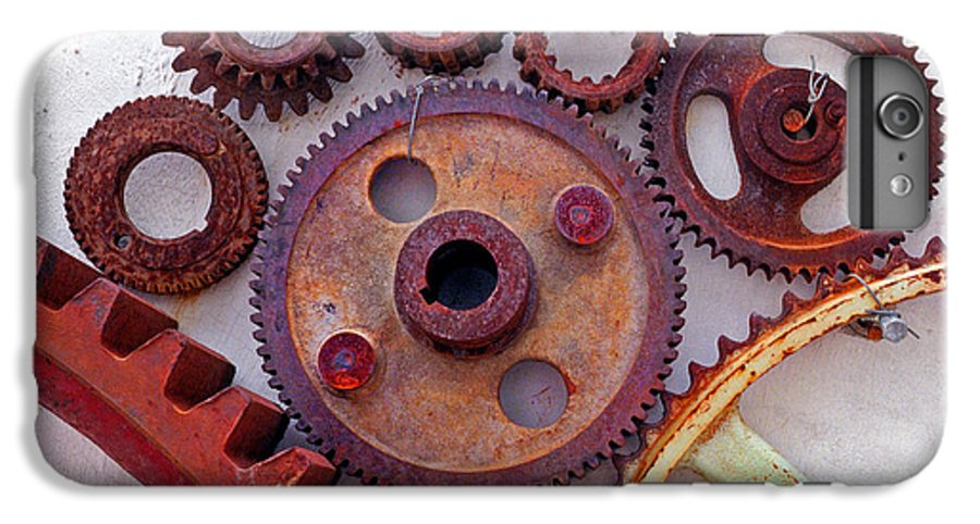 Gears IPhone 6s Plus Case featuring the photograph Ghost by Skip Hunt