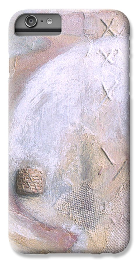 Collage IPhone 6s Plus Case featuring the painting Give And Receive by Kerryn Madsen-Pietsch